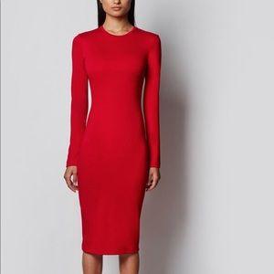 Prabal Gurung NWT crimson knit dress size XL